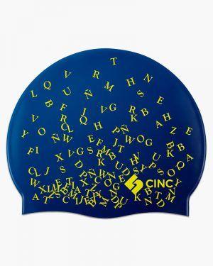 Gorro silicona CincSport® Letters