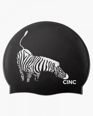 Gorro silicona Cincsport® Zebra Negro