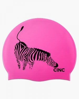 Gorro silicona Cincsport® Zebra Rosa