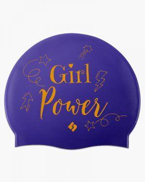 Gorro silicona CincSport® Girl Power Purple