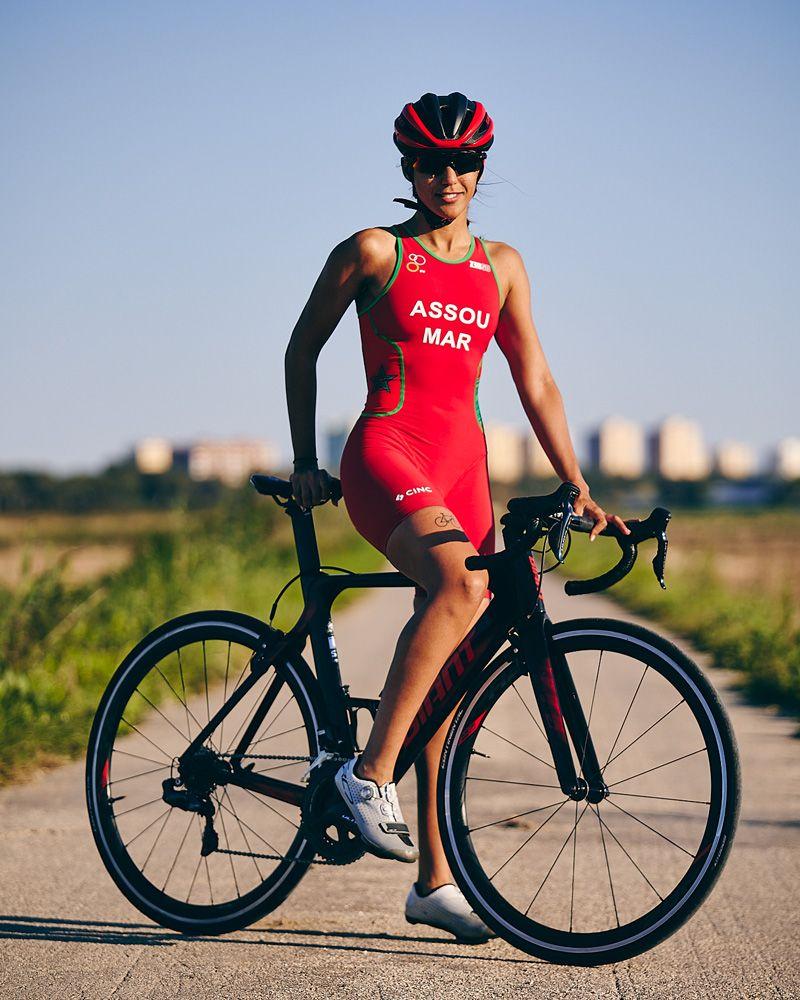 Ghizlane Assou triatleta élite